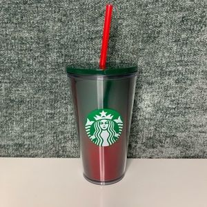 Starbucks Holiday Holographic Red/green Tumbler